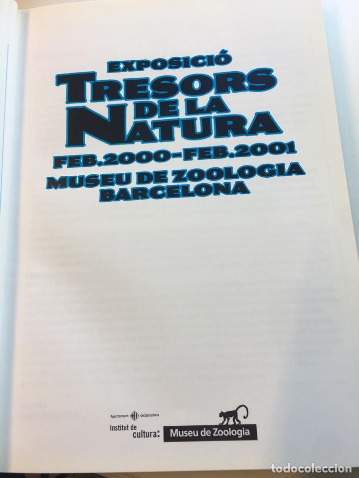 Libros: Tresors de la Natura catálogo exposición año 2000 - Foto 2 - 159073590