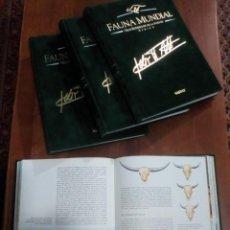 Libros: FAUNA MUNDIAL DE FELIX RODRIGUEZ DE LA FUENTE. Lote 161288970