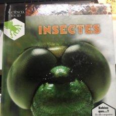Libros: INSECTES GUIA ENTERACTIVA. Lote 217374073