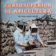 Libros: CURSO SUPERIOR DE APICULTURA. DEL DR JUAN GARAU SALVÁ. IMPECABLE!!!. ÚNICA EDICIÓN. RARO EN COMERCIO. Lote 243821055