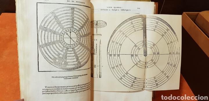Libros: DE RE METALICA LIBRI XII,NUMERADO,999 EJEMPLARES. - Foto 8 - 168501256