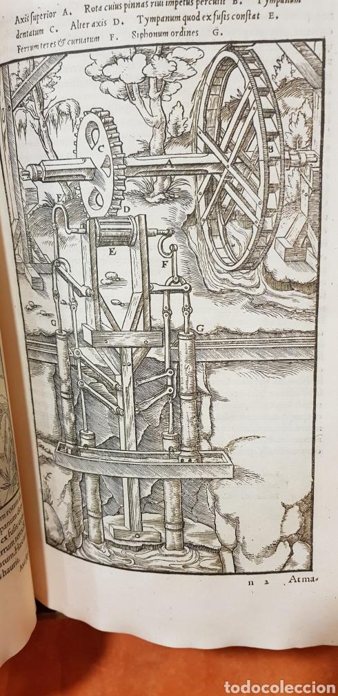 Libros: DE RE METALICA LIBRI XII,NUMERADO,999 EJEMPLARES. - Foto 11 - 168501256