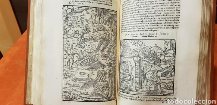 Libros: DE RE METALICA LIBRI XII,NUMERADO,999 EJEMPLARES. - Foto 13 - 168501256
