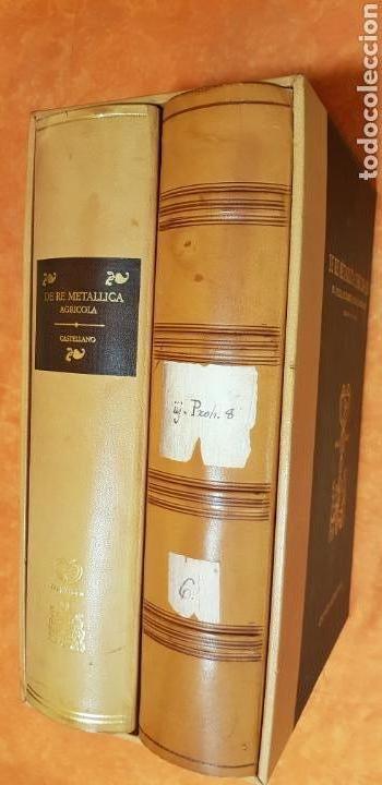 DE RE METALICA LIBRI XII,NUMERADO,999 EJEMPLARES. (Libros Nuevos - Ciencias Manuales y Oficios - Ciencias Naturales)