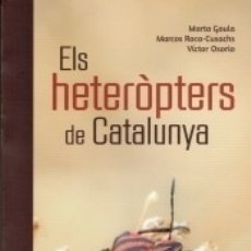 Libros: ELS HETERÒPTERS DE CATALUNYA. Lote 171931092
