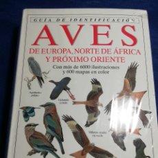 Libros: EN EL PLÁSTICO. GUÍA OMEGA DE IDENTIFICACIÓN DE AVES DE EUROPA, NORTE DE ÁFRICA Y PRÓXIMO ORIENTE. Lote 178372885