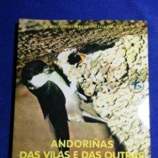 Libros: ANDORIÑAS DAS VILAS E DAS OUTRAS. ESTANISLAO F. DE LA CIGOÑA. NUEVO. Lote 179051692