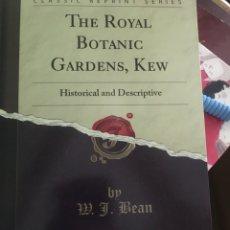 Libros: THE ROYAL BOTÁNICA GARDEN , KEW. Lote 182753781