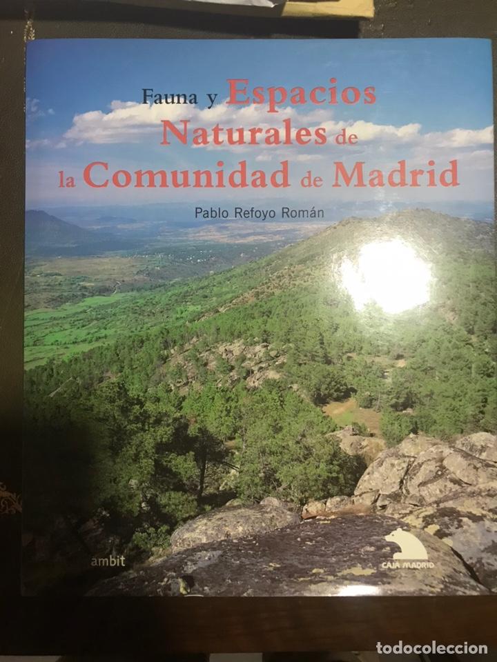 FAUNA Y ESPACIOS NATURALES DE LA COMUNIDAD DE MADRID. PABLO RETOYO ROMÁN (Libros Nuevos - Ciencias Manuales y Oficios - Ciencias Naturales)