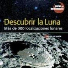 Libros: DESCUBRIR LA LUNA. Lote 182976211