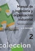 MANUAL DE INGENIER¡A Y ORGANIZACI¢N INDUSTRIAL, VOL 2 (Libros Nuevos - Ciencias Manuales y Oficios - Ciencias Naturales)
