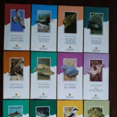 Libros: COL·LECCIÓ 12 QUADERNS DE FAUNA CATALAN DE LA GENERALITAT DE CATALUNYA. Lote 185709728