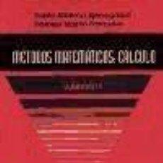Libros: MÉTODOS MATEMÁTICOS. Lote 185979416