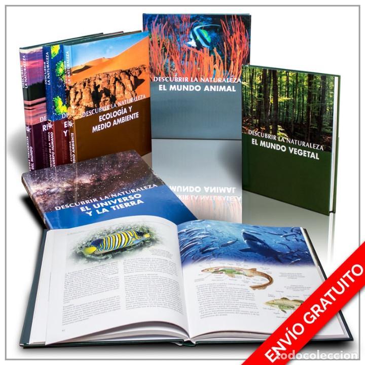 COLECCIÓN DESCUBRIR LA NATURALEZA. 6 TOMOS - VARIOS AUTORES (CARTONÉ) DESCATALOGADO!!! OFERTA!!! (Libros Nuevos - Ciencias Manuales y Oficios - Ciencias Naturales)
