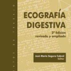 Livres: ECOGRAFÍA DIGESTIVA. Lote 191701700