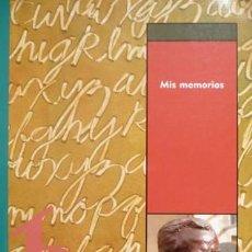 Libros: BUEN Y DEL COS, ODÓN DE. MIS MEMORIAS. 2003.. Lote 194266922