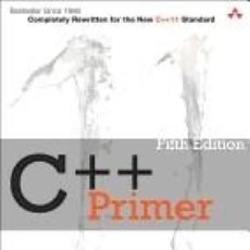 Libros: C++ PRIMER 5TH EDITION. Lote 194752988