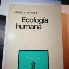 Libros: ECOLOGÍA HUMANA. AMOS H. HAWLEY. Lote 196532161