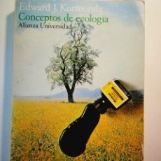 Libros: CONCEPTOS DE ECOLOGÍA. EDWARD J. KORMONDY. Lote 196798037