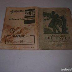 Libros: CALENDARI DEL PAYES 1962 . Lote 198631282