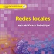 Libros: REDES LOCALES. Lote 198910255
