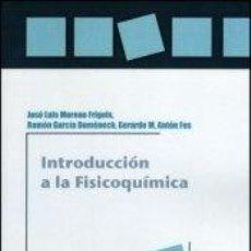Libros: INTRODUCCIÓN A LA FISICOQUÍMICA, 2A ED.. Lote 199104203