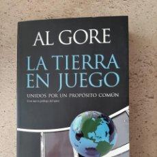 Libros: LIBRO LA TIERRA EN JUEGO (AL GORE). Lote 200521080