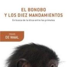 Libri: EL BONOBO Y LOS DIEZ MANDAMIENTOS. Lote 202363258