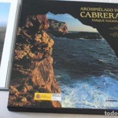 Libros: LIBRO PARQUE NACIONAL DE CABRERA. Lote 203479350