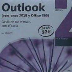 Libros: PACK DE LIBROS OUTLOOK (VERSIONES 2019 Y OFFICE 365). Lote 206202117