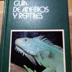Libros: GUÍA DE ANFIBIOS Y REPTILES. GRIJALBO. NUEVA SIN USO.. Lote 206460452