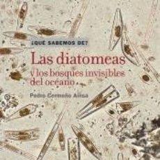 Libros: LAS DIATOMEAS Y LOS BOSQUES INVISIBLES DEL OCÉANO. Lote 206864803