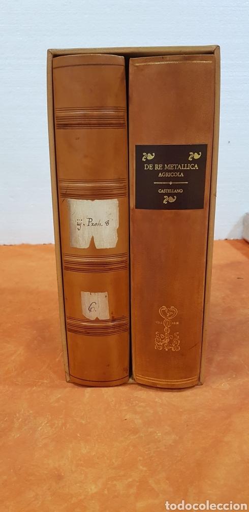 Libros: DE RE METALLICA LIBRI XII,NUMERADO,999 EJEMPLARES. - Foto 2 - 168501256