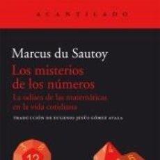 Libros: LOS MISTERIOS DE LOS NÚMEROS. Lote 210015353