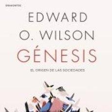 Libros: GÉNESIS: EL ORIGEN DE LAS SOCIEDADES. Lote 211778481
