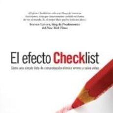 Libros: EL EFECTO CHECKLIST. Lote 211812823