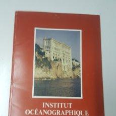 Libros: CATALOGO INSTITUT OCEANOGRAPHIQUE FUND. PRINCIPE ALBERTO EN FRANCÉS DIRECTOR JACQUES COUSTEAU 53 PAG. Lote 213824243