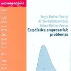Libros: ESTADÍSTICA EMPRESARIAL: PROBLEMAS. Lote 217887447
