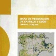 Livros: MAPA DE VEGETACION DE CASTILLA Y LEON:SINTESIS 1:400.000. Lote 219980900