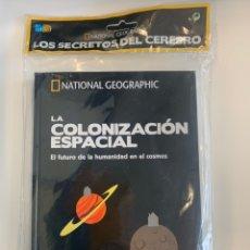 Libros: NATIONAL GEOGRAPHIC- LOS SECRETOS DEL CEREBRO - LA COLONIZACIÓN ESPACIAL - NUEVO. Lote 221553363
