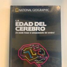 Libros: NATIONAL GEOGRAPHIC - LOS SECRETOS DEL CEREBRO - LA EDAD DEL CEREBRO - NUEVO. Lote 221553536