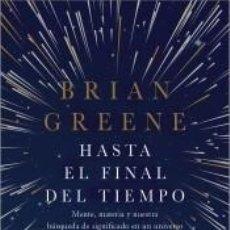 Libros: HASTA EL FINAL DEL TIEMPO. Lote 221669323