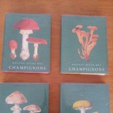 Libros: NOUVEL ATLAS DES CHAMPIGNONES: HENRI ROMAGNESI. Lote 222877111