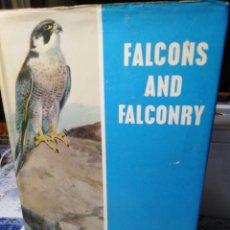 Libros: FALCONS AND FALCONRY-FRANK ILLINGWORTH-CETRERIA,EDICION EN INGLÉS,1975,ILUSTRADO. Lote 222923270