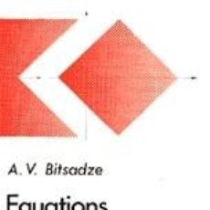 Libros: EQUATIONS OF THE MATHEMATICALS PHYSICS. Lote 228059870