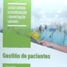 Libros: GESTIÓN DE PACIENTES. Lote 228124935