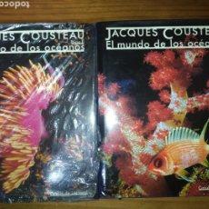 Libros: JACQUES COUSTEAU, EL MUNDO DE LOS OCÉANOS.. Lote 228151815