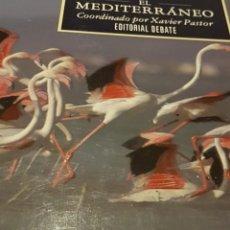 Libros: GREENPEACE LIBRO EL MEDITERRÁNEO 1991 LOS MARES DE EUROPA. Lote 228501355