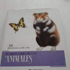 Libros: EL GRAN LIBRO DE LOS ANIMALES. Lote 228868005