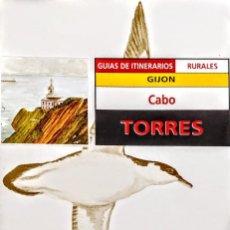 Libros: CABO TORRES.GIJON.GUIA DE ITINERARIOS.FUNDACION DE CULTURA.. Lote 228954185